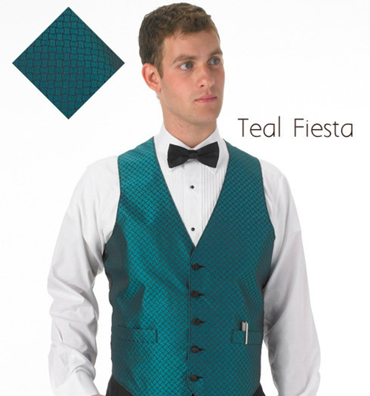 Teal Fiesta