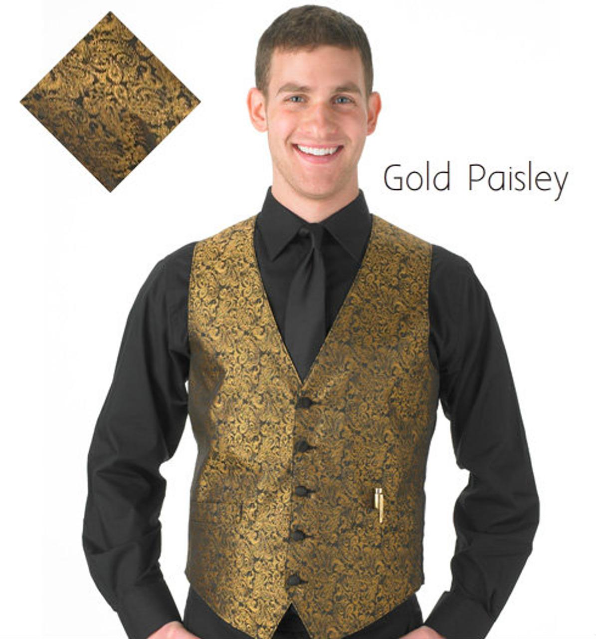 Gold Paisley
