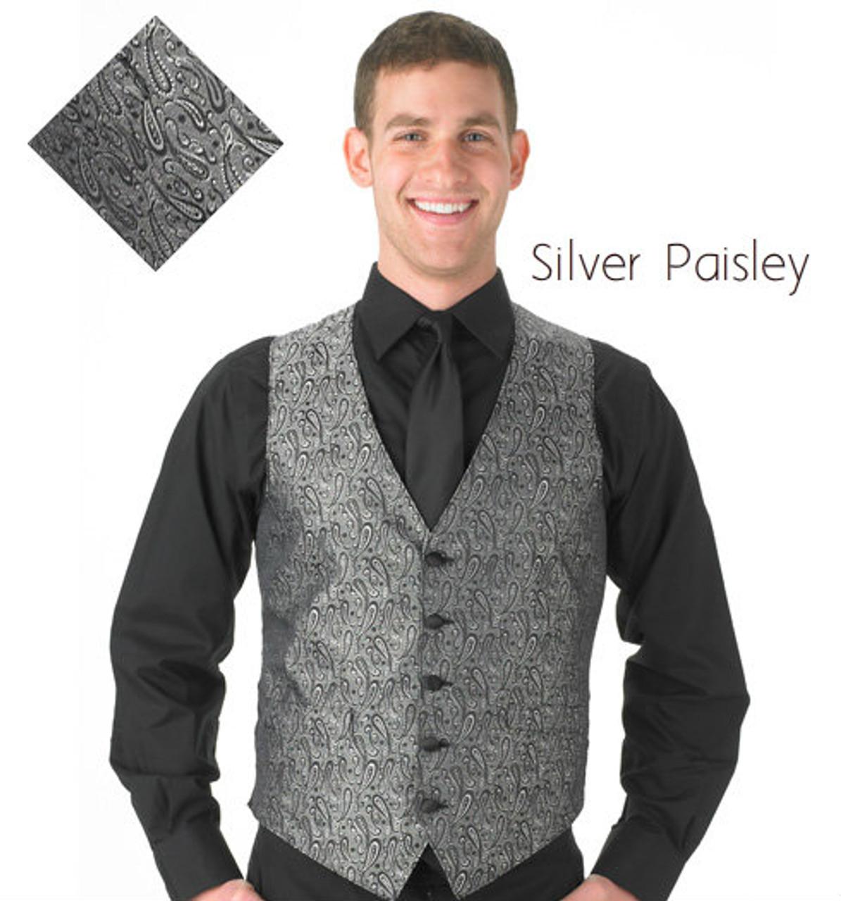 Silver Paisley