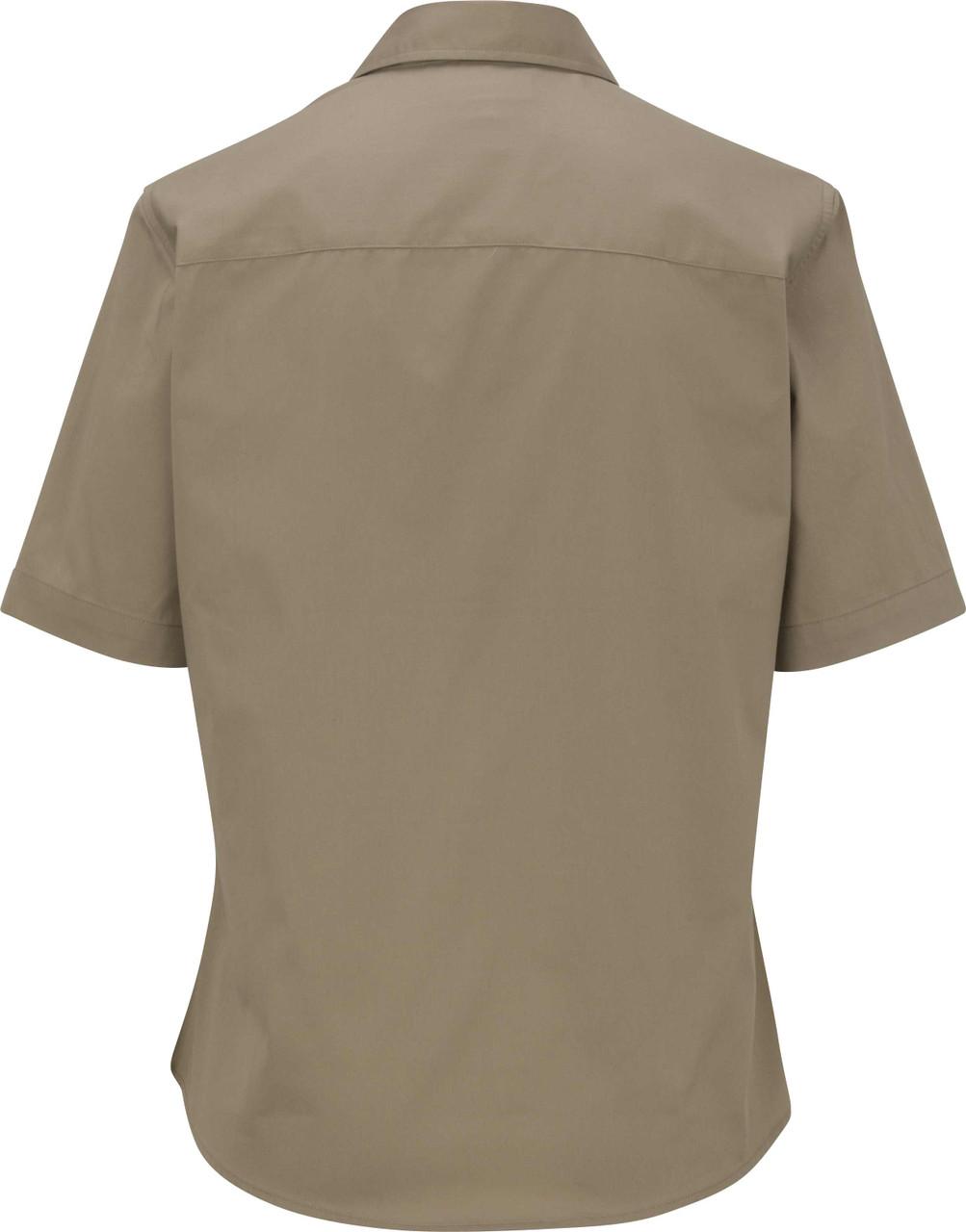 Women's Short Sleeve Teflon Twill Uniform Shirt