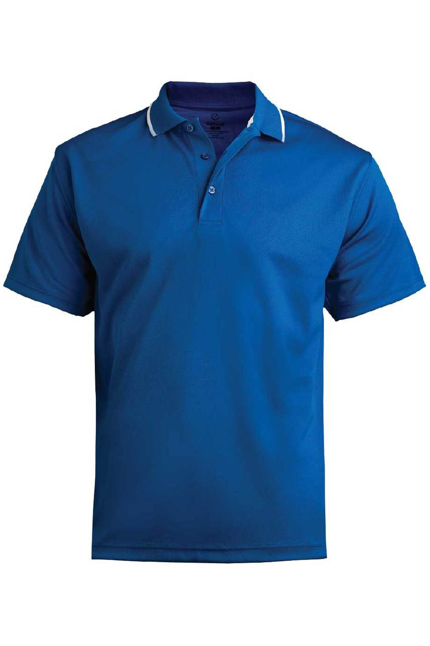 Tipped Collar High-Performance Polo
