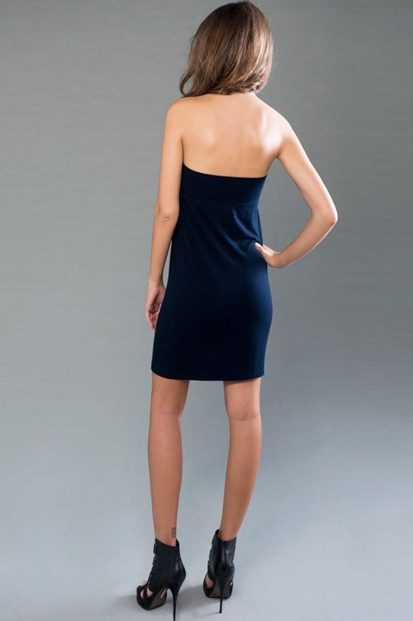 back side of the dress version