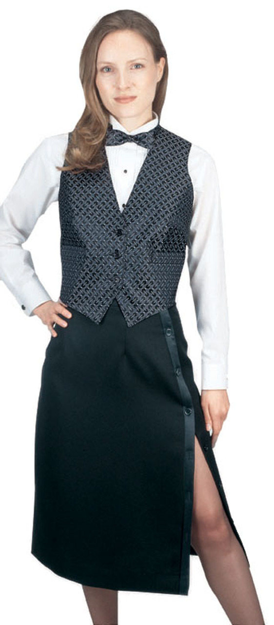 Tuxedo Skirt for your restaurant staff