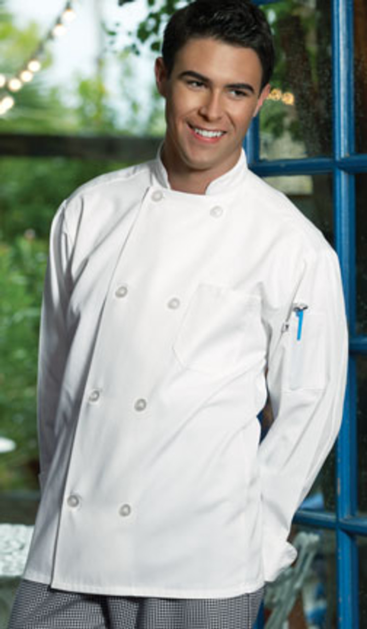 A Chef coat that looks expensive but isn't!