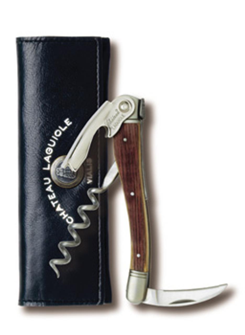 Use a corkscrew made from wine oak barrels in France!