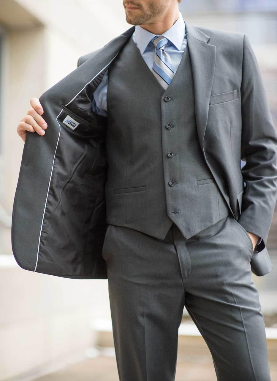 Synergy Washable Men's Hotel Uniform Suit