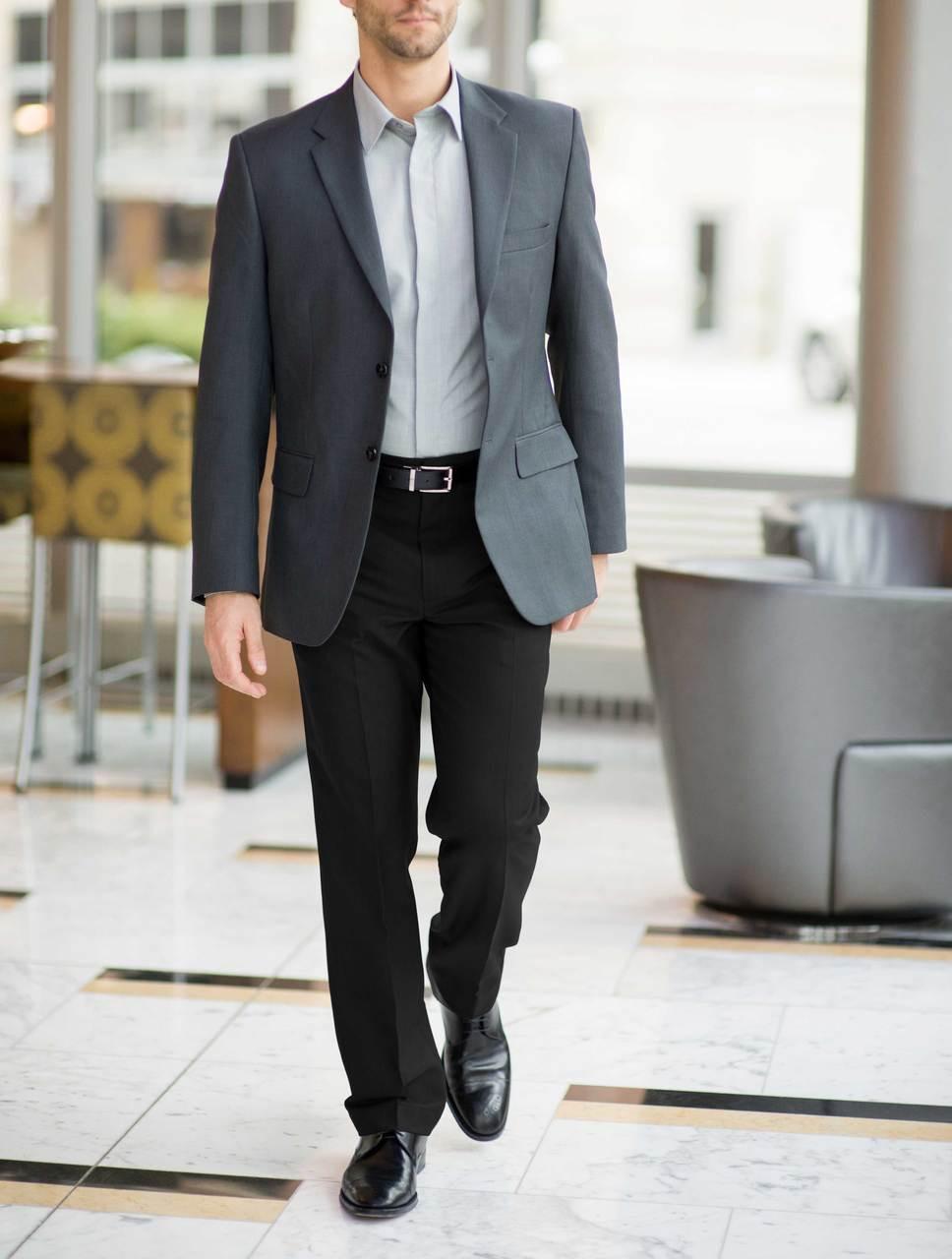 Men's Synergy Washable Uniform Suit Coat
