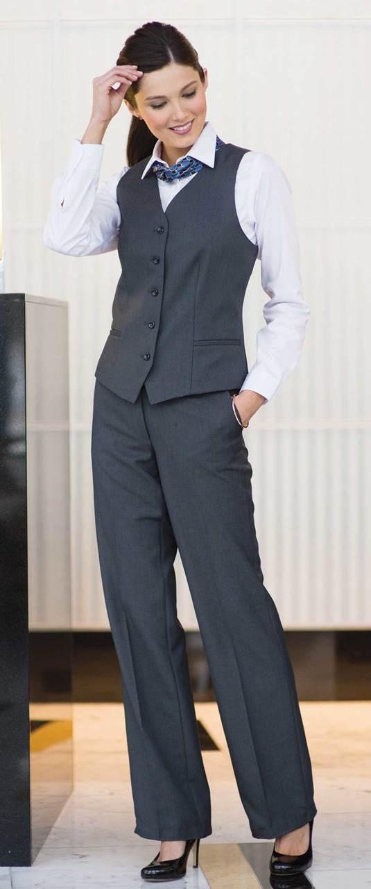 Hotel Uniform Vest for Men and Women