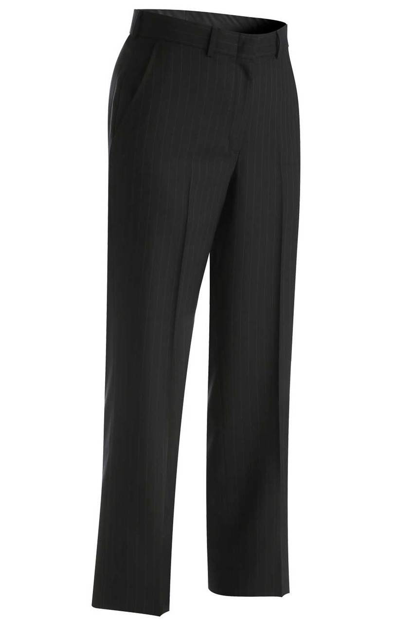 Women's Pinstripe Suit Pants