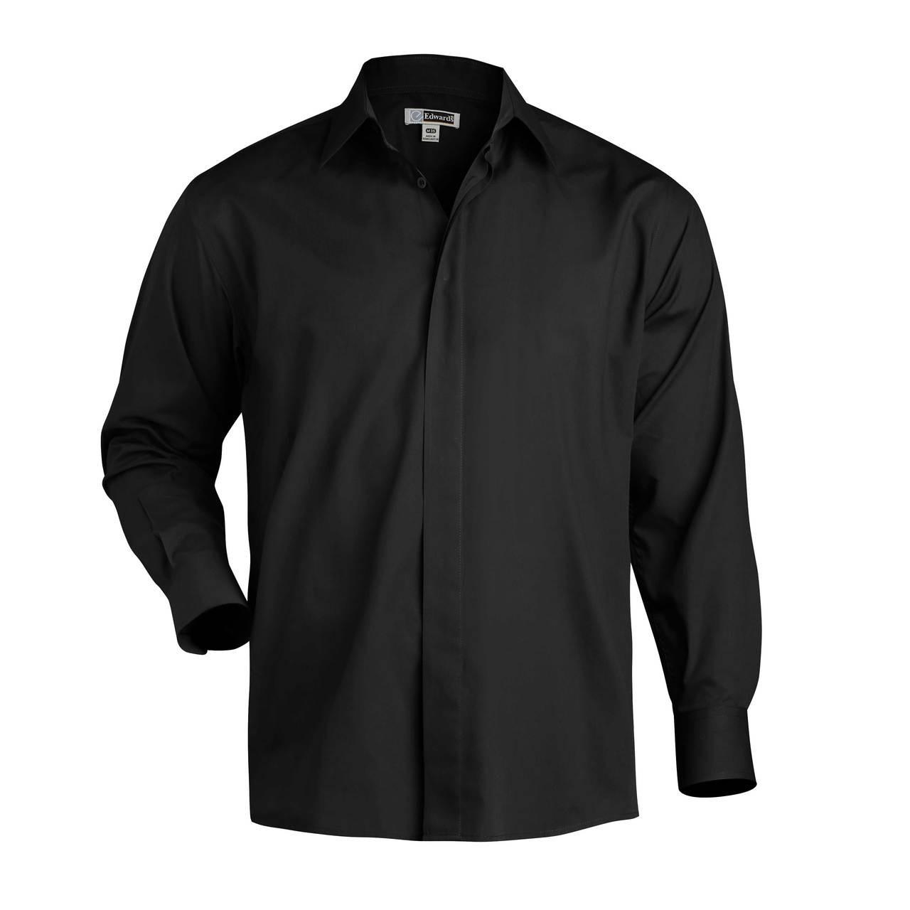 Easy Care Server Shirt - Black