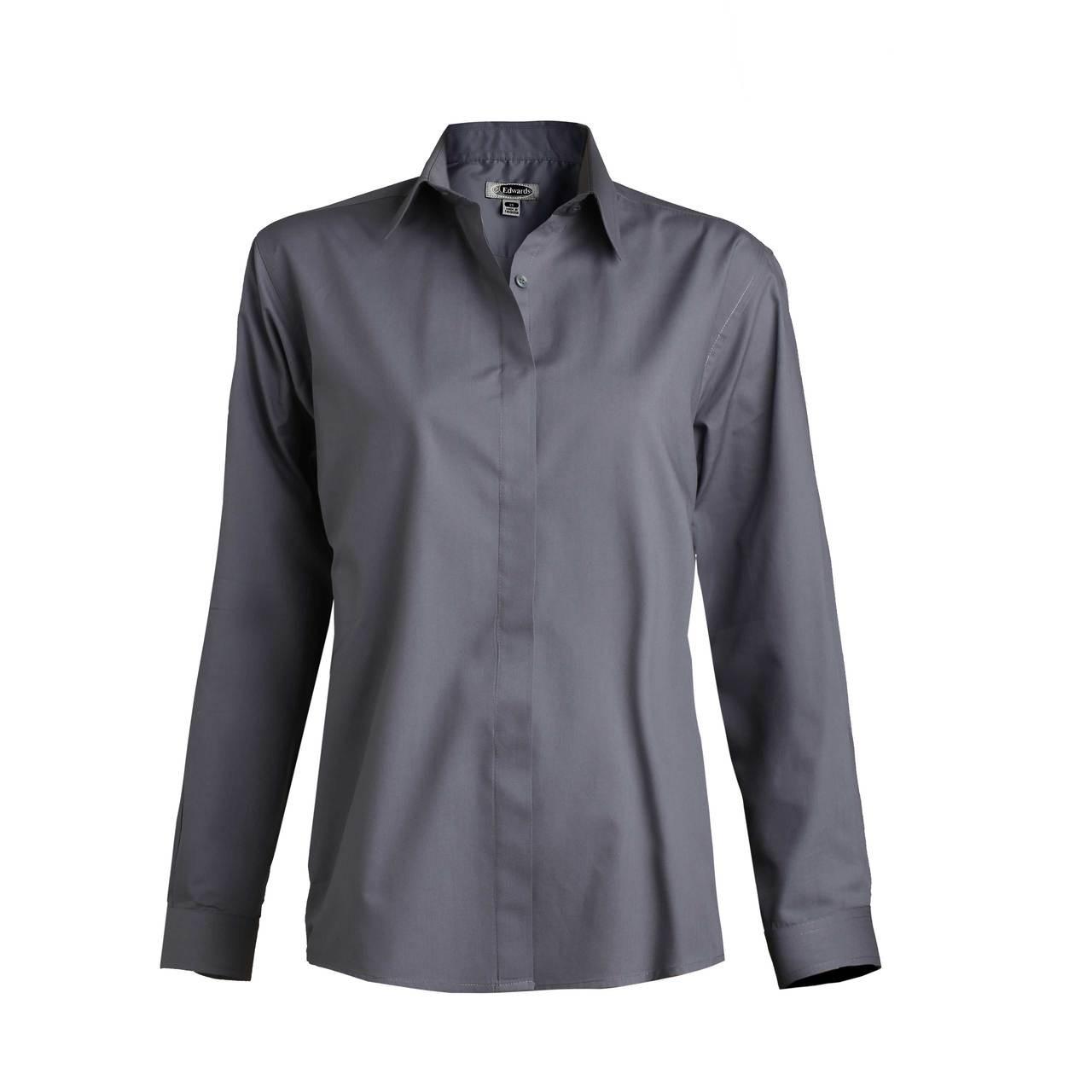 Easy Care Server Shirt - Dark Grey