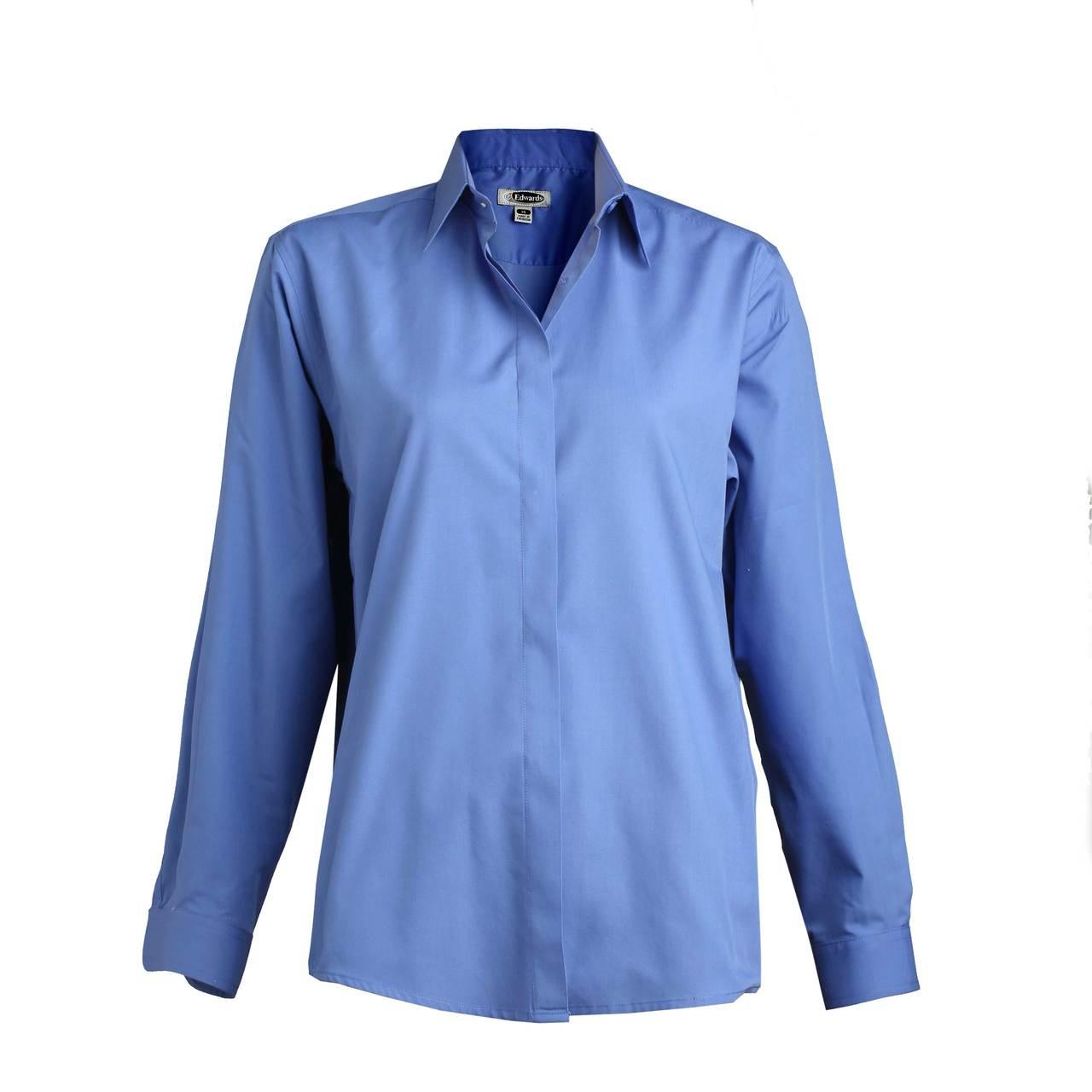Easy Care Server Shirt - Royal
