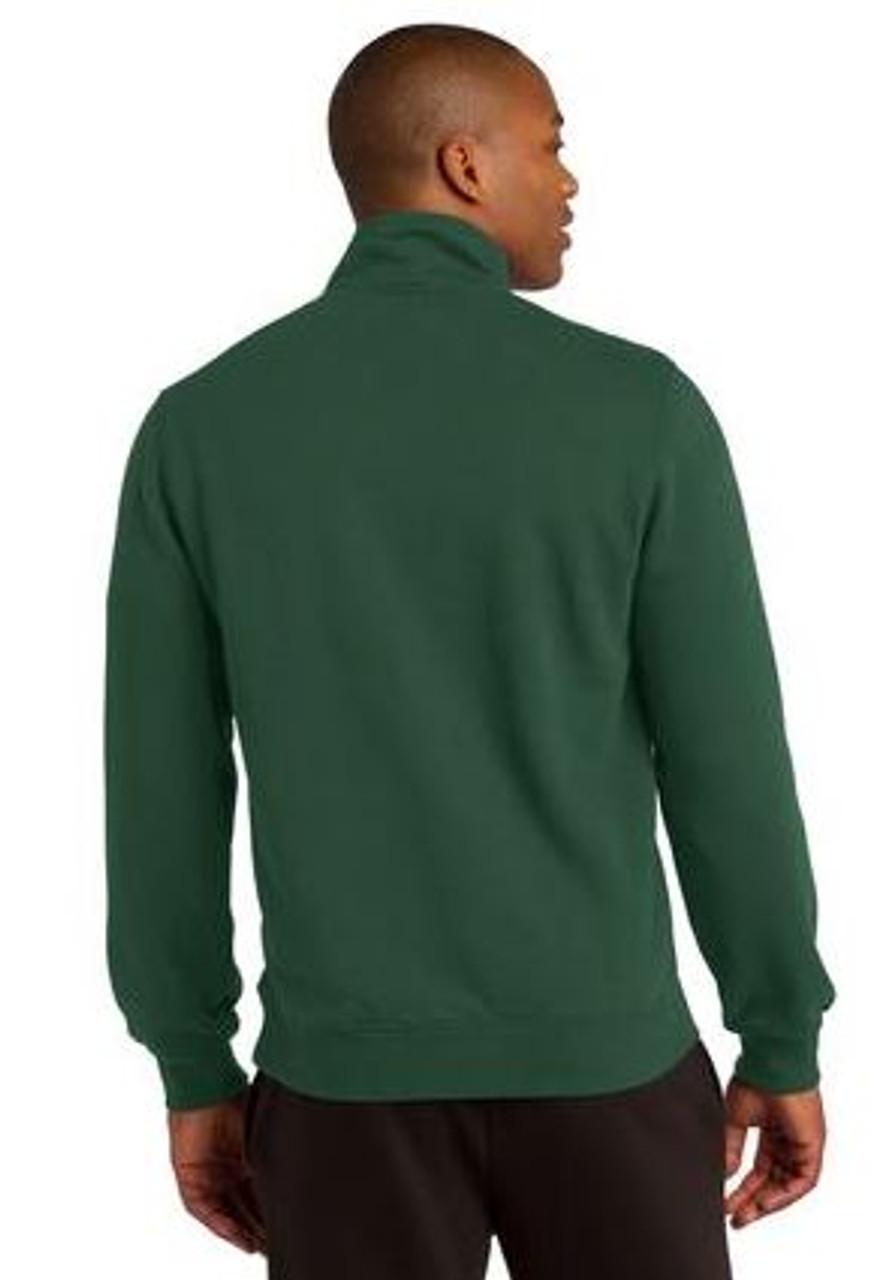 Forest Green 1/4 Zip Sweatshirt