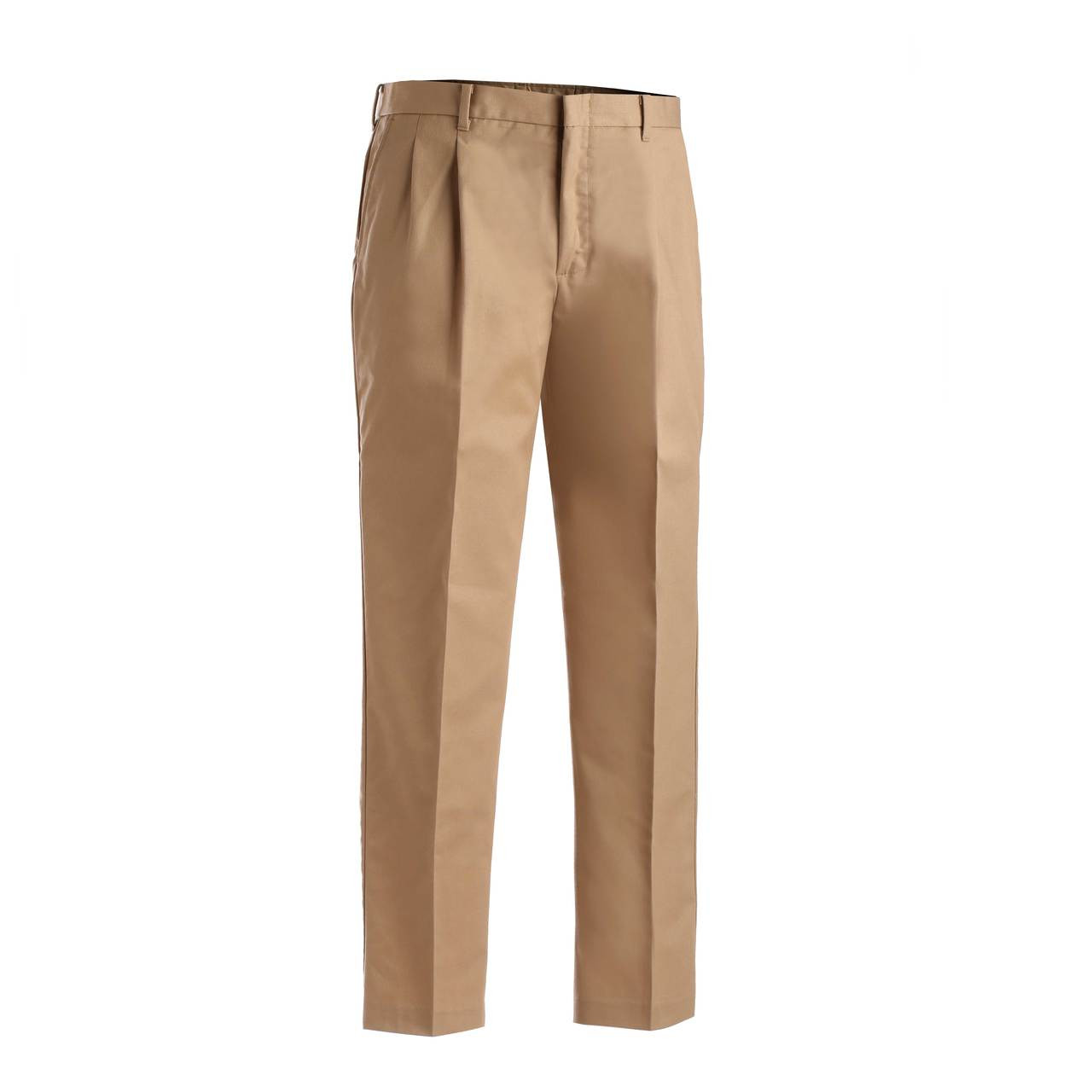 Ed Garments MenS Tall Business Casual Chino Pleated Pant-Black-42-Ur