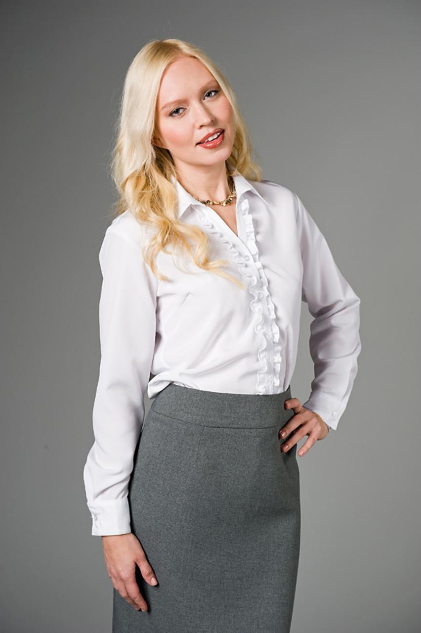 White Rebecca Blouse