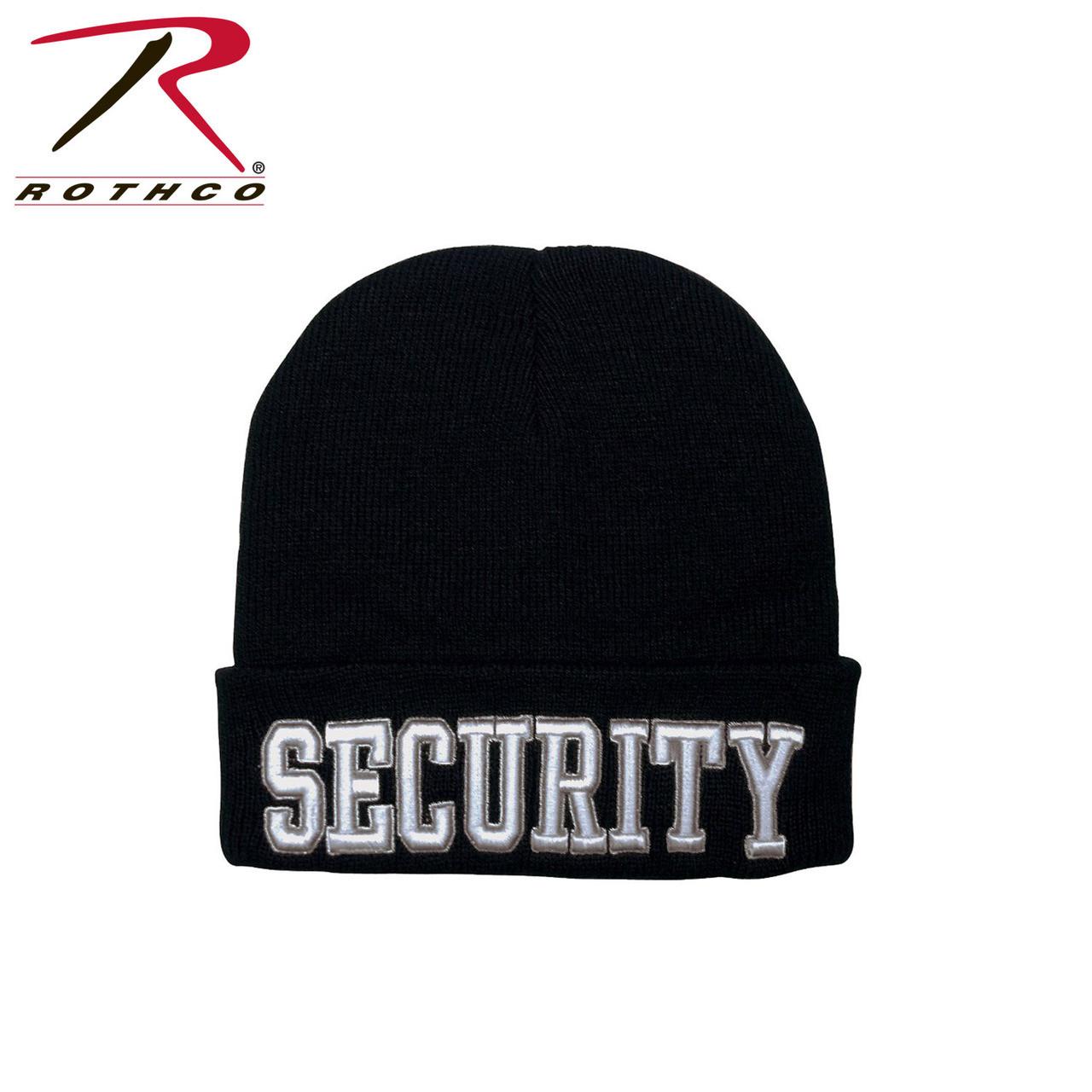 Security Uniform Watch Cap