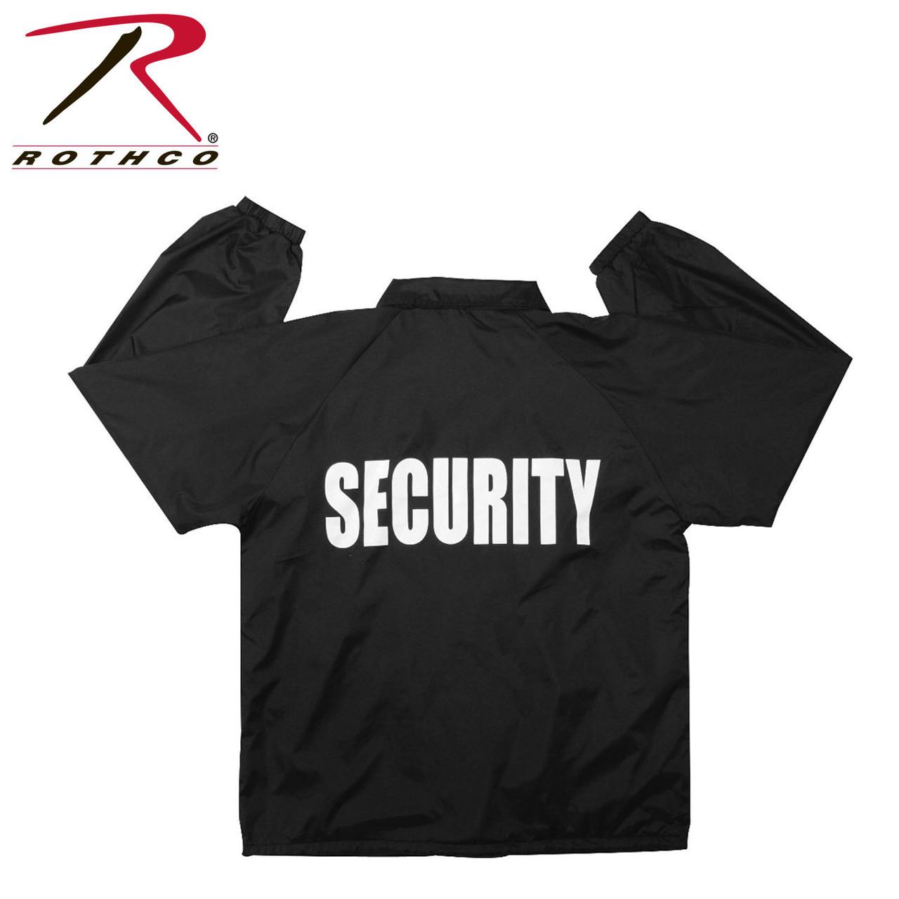 Security Uniform Windbreaker Jacket