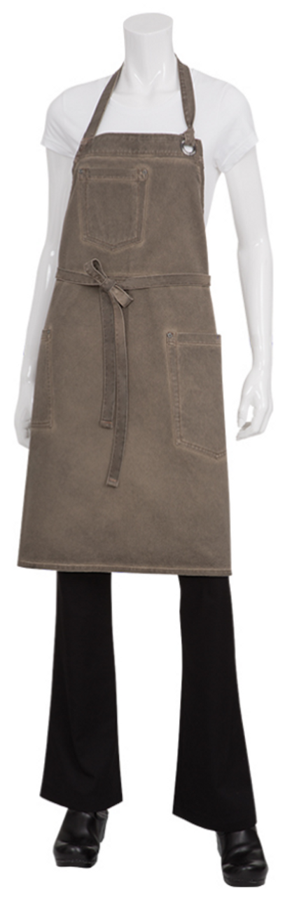 Earth Bib Apron