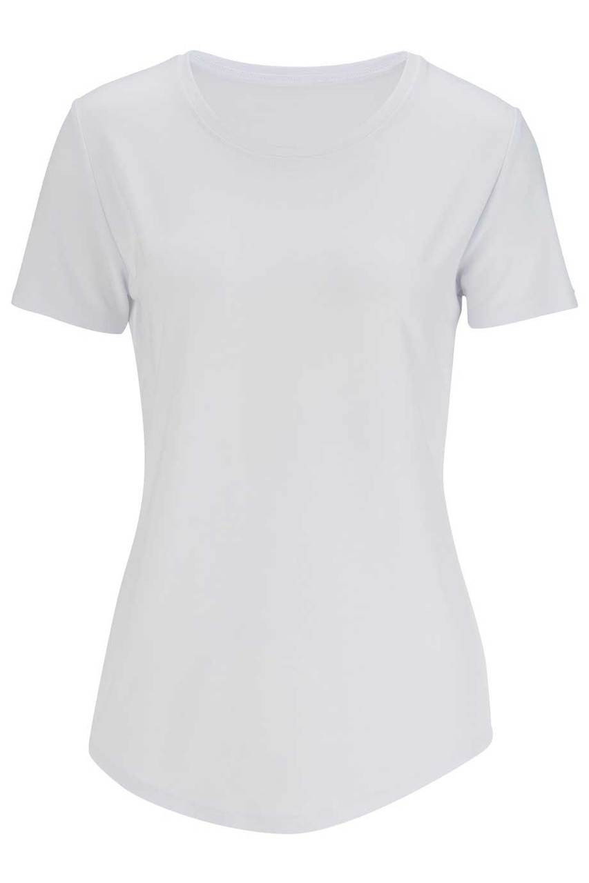 Short Sleeve Slinky Uniform Blouse CLOSEOUT No Returns