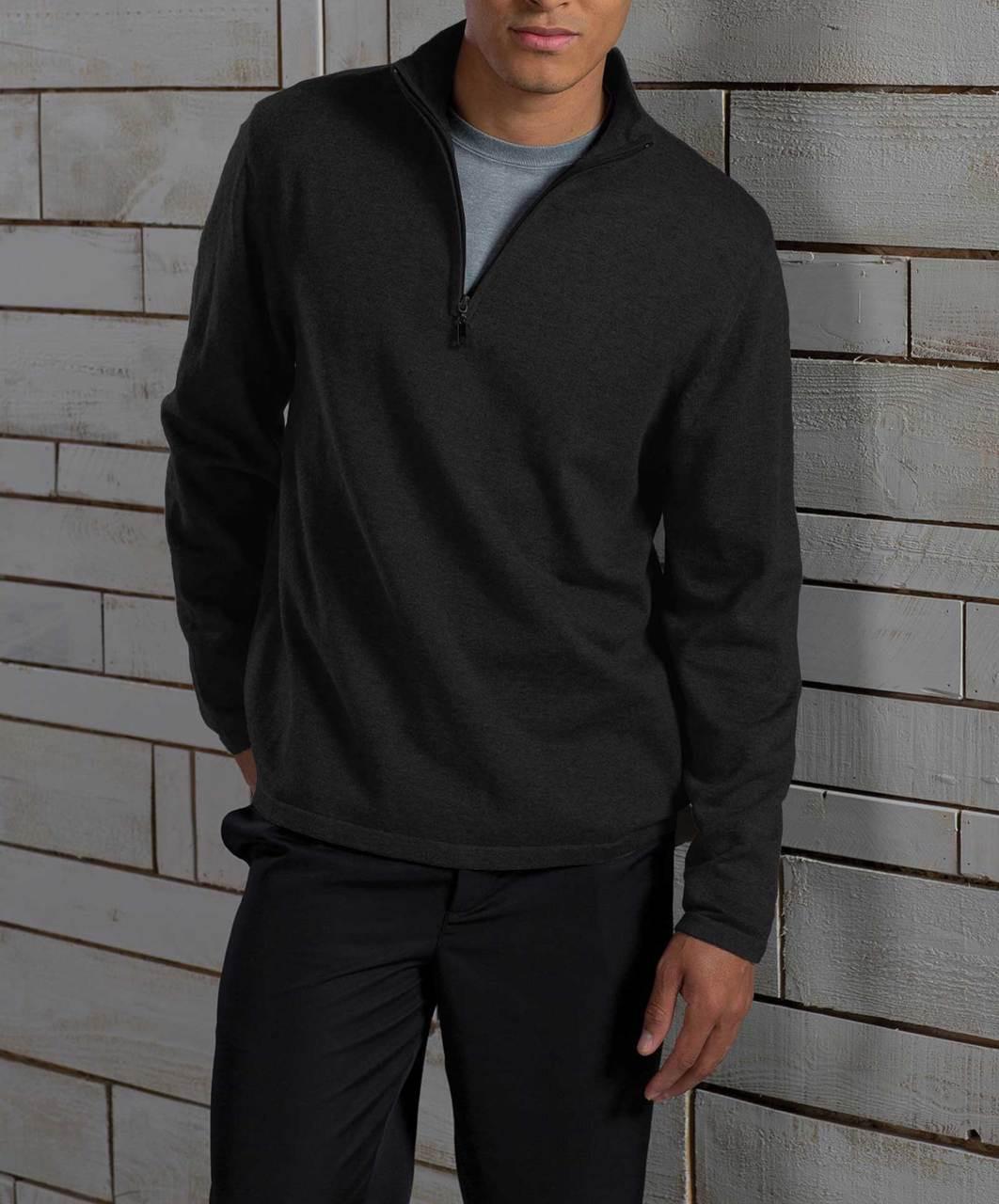 Unisex Quarter Zip Sweater