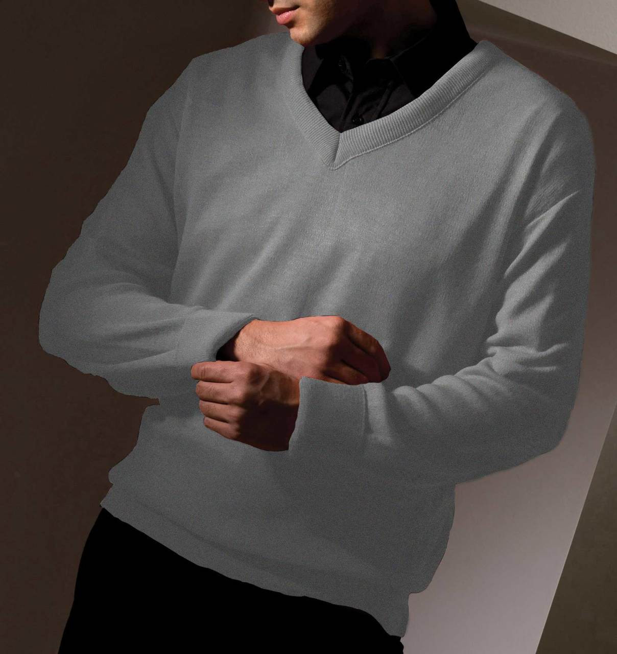 Value Uniform V-Neck Sweater