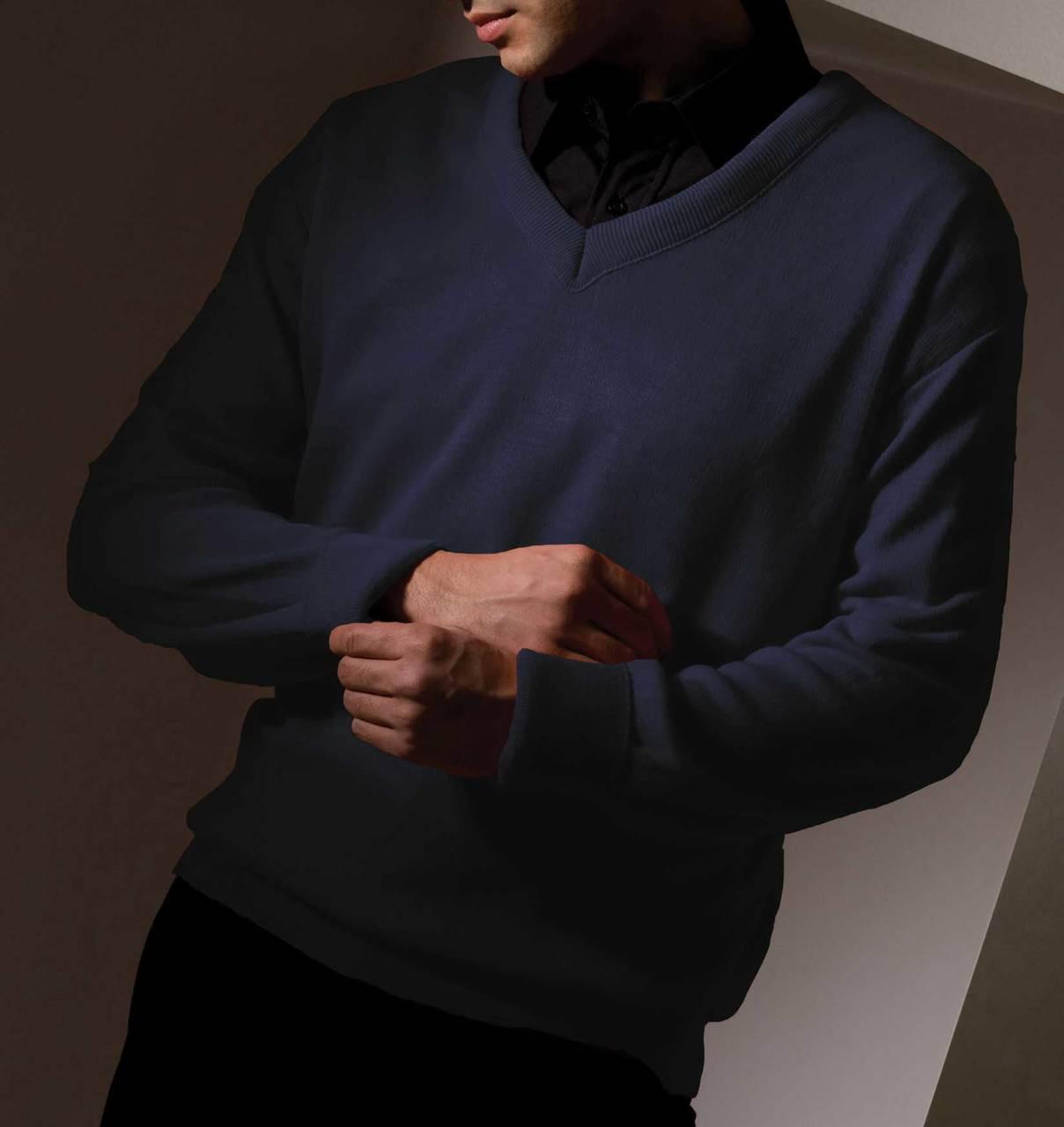Value Uniform V-Neck Sweater