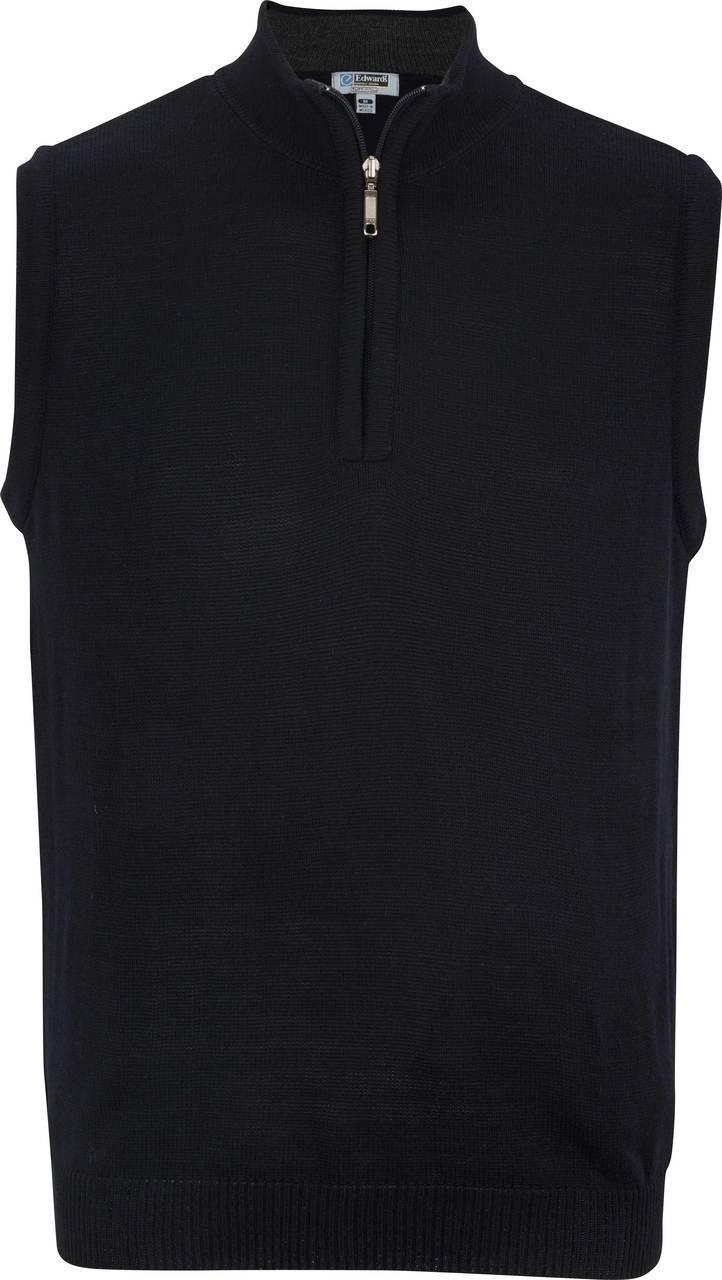 Employee Quarter Zip Sweater Vest