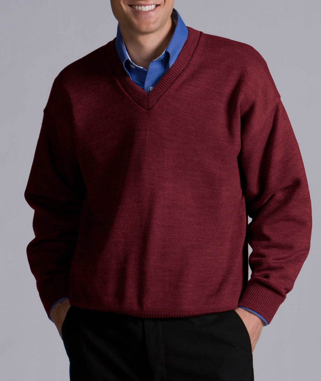 Perfect Men's V-Neck Sweater