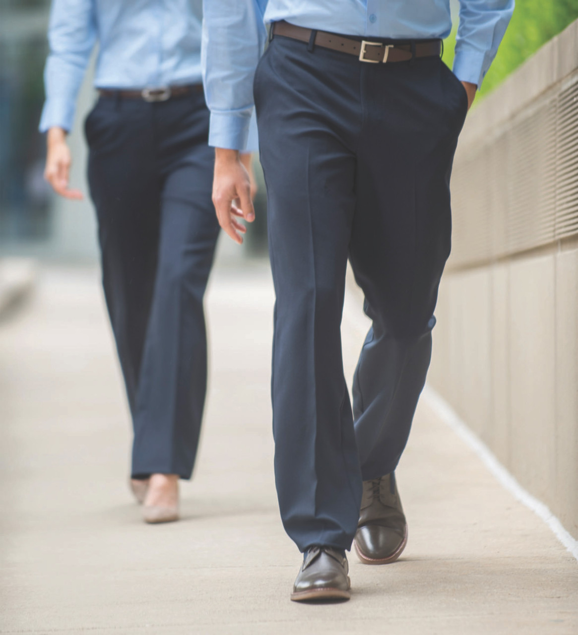 Men's Easy Fit Polyester Pants