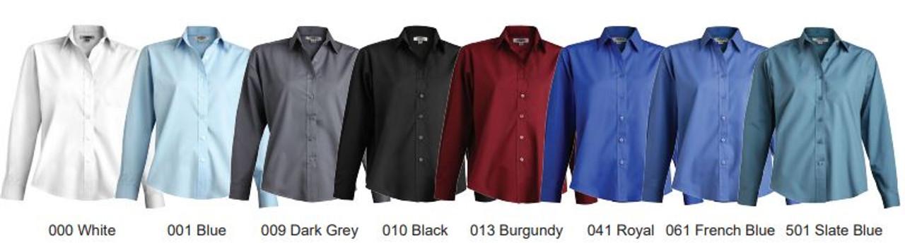 Women's Long Sleeve Uniform Shirt CLOSEOUT No Returns