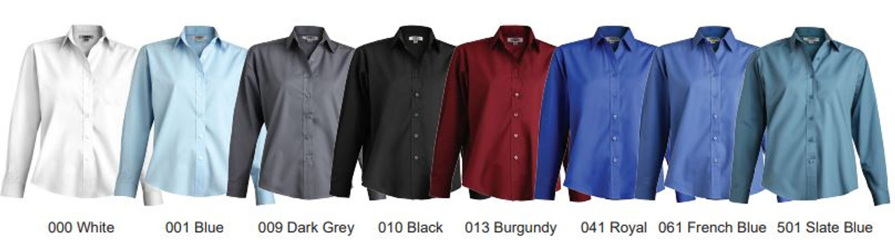Women's Long Sleeve Uniform Shirt CLOSEOUT No Returns
