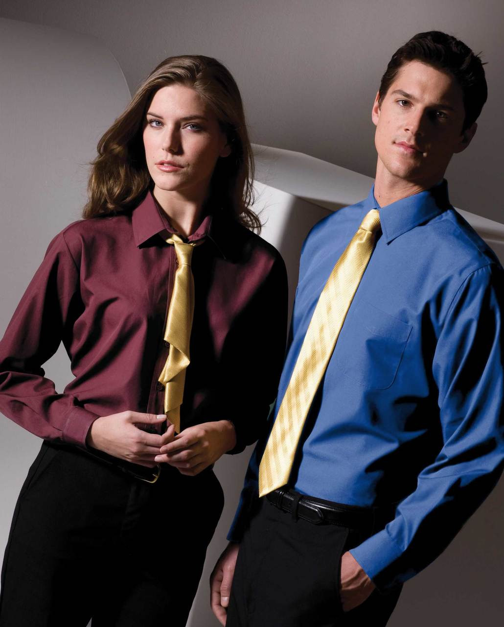 Value priced staff shirt for women.