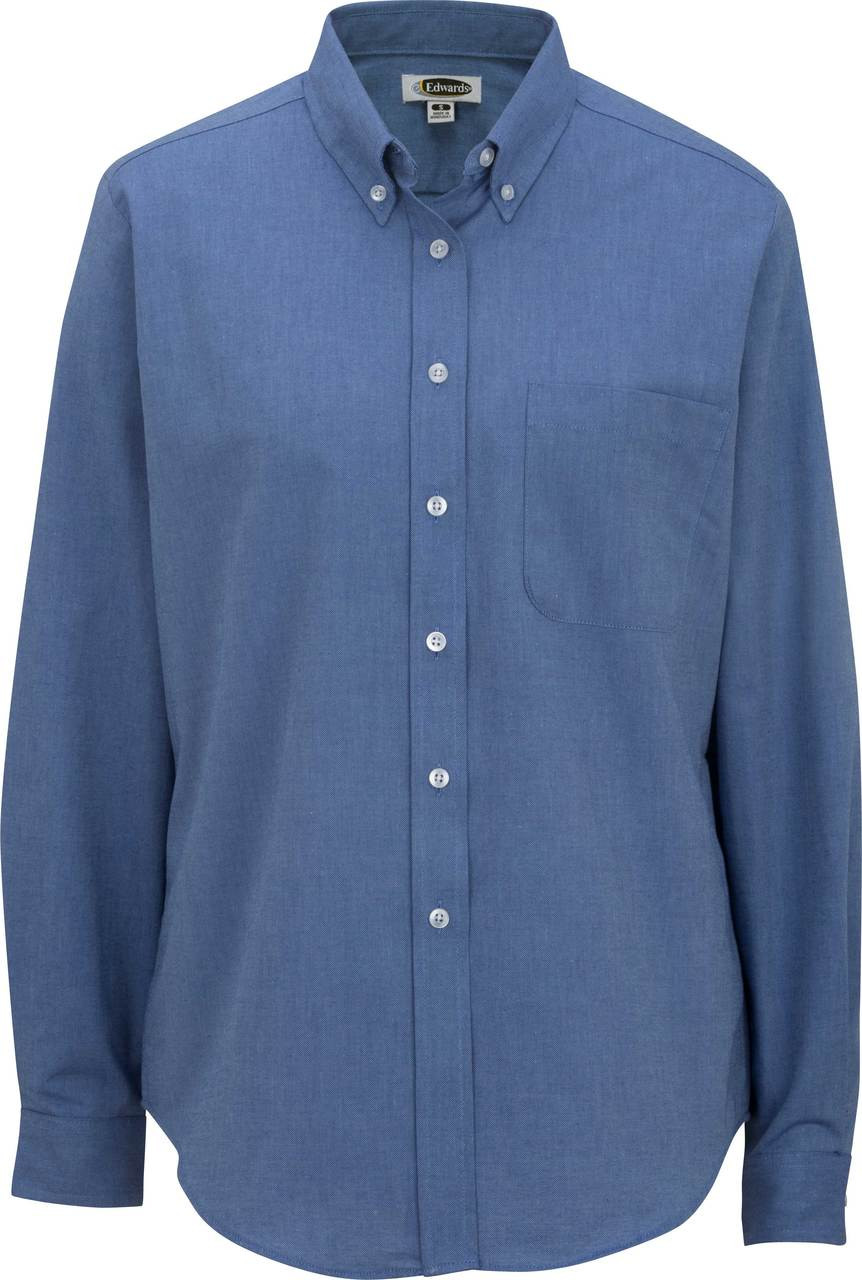 Women's Long Sleeve Easy Care Oxford Shirt