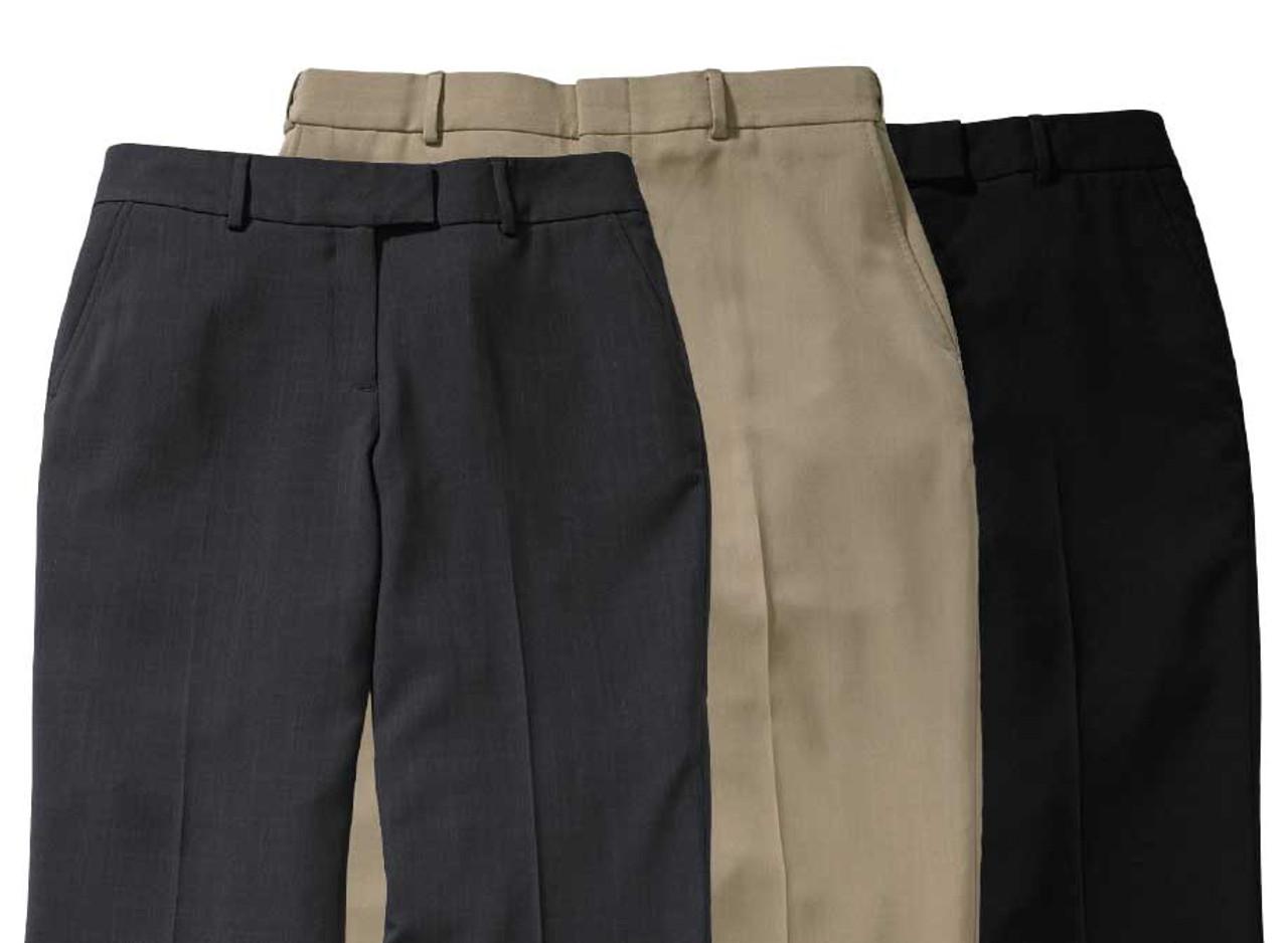 Women's Stretch Microfiber Uniform Pants