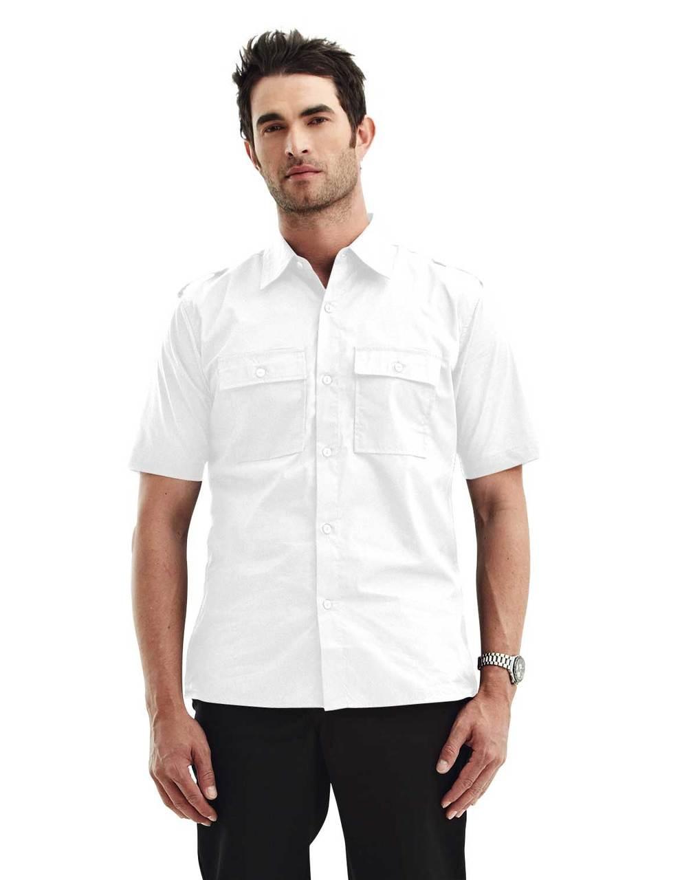 Double Pocket Roll Sleeve Shirt