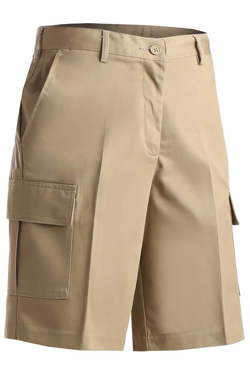 Women's Cargo Chino Uniform Shorts