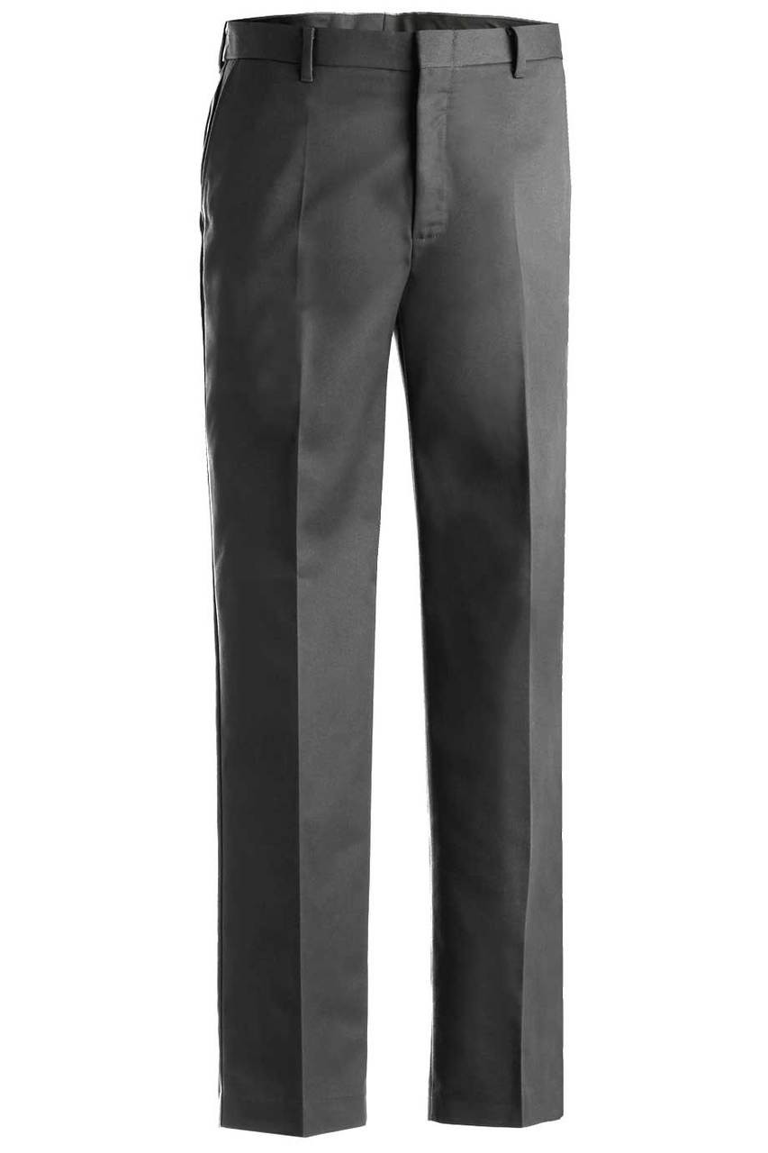 Men's Flat Front Chino Pants