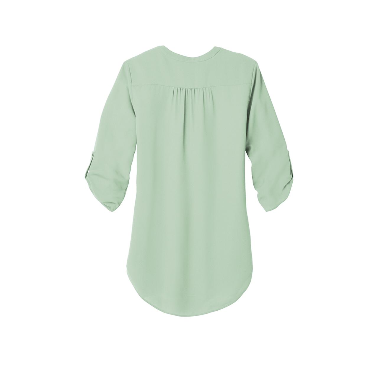 3/4-Sleeve Tunic Blouse