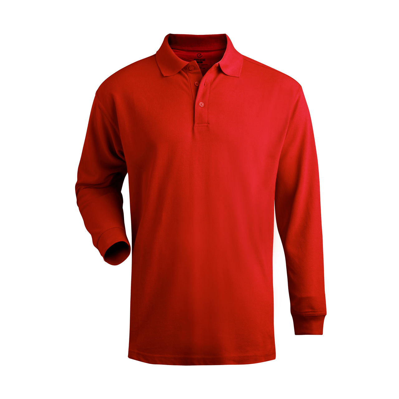 Long Sleeve Soft Touch Pique Polo Shirt