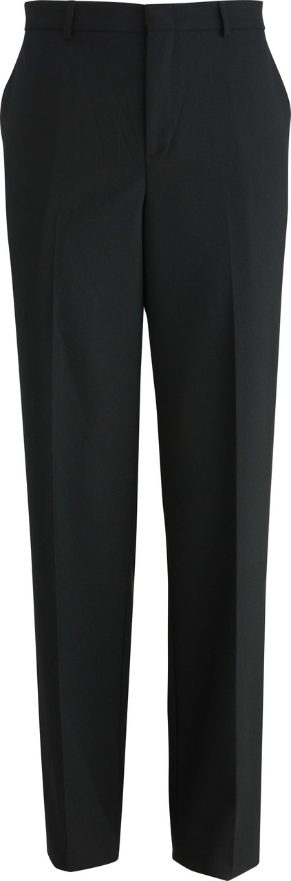 Men's Tailored Flat Front Dress Pants