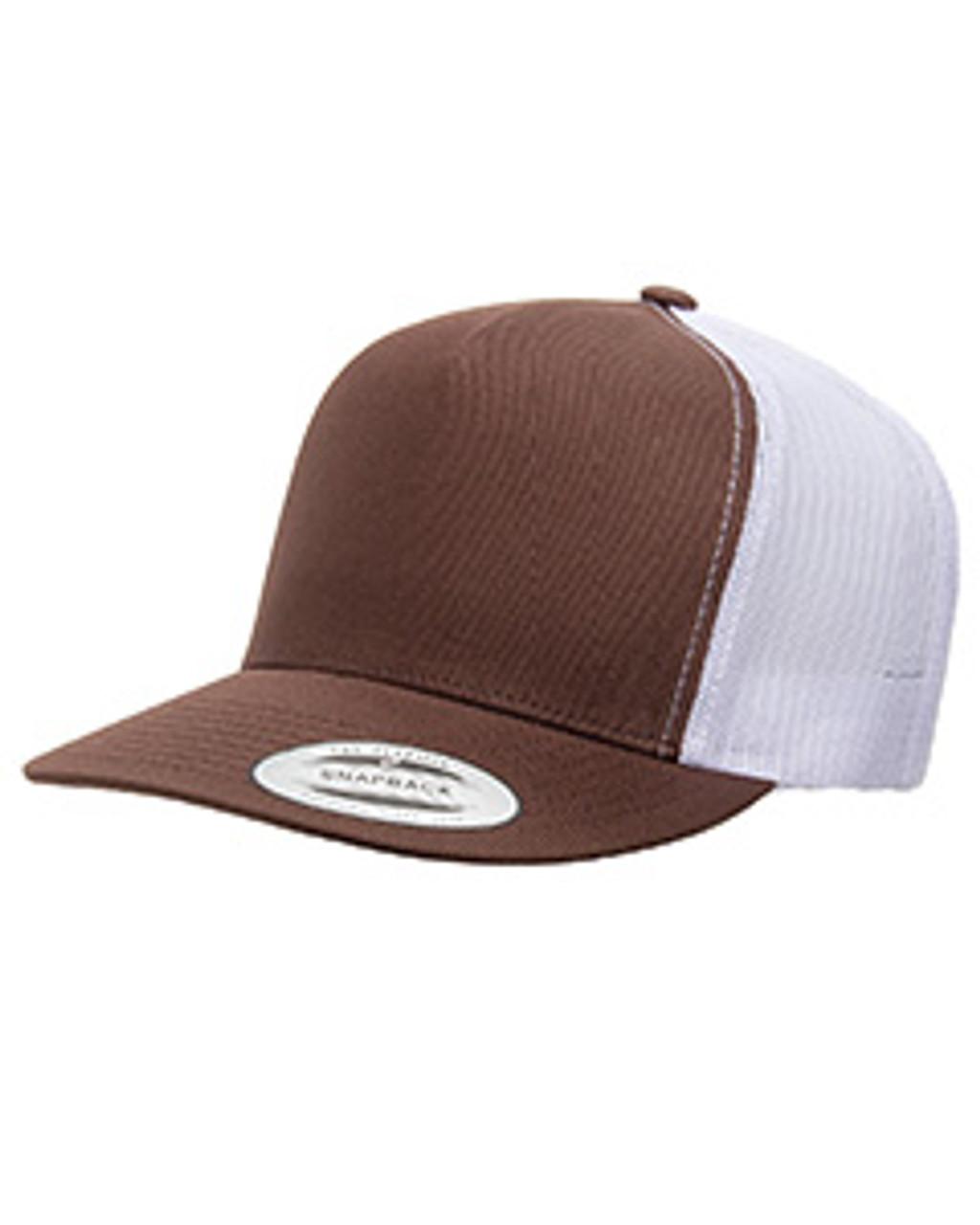 Yupoong - Classic Flat Bill Trucker Cap
