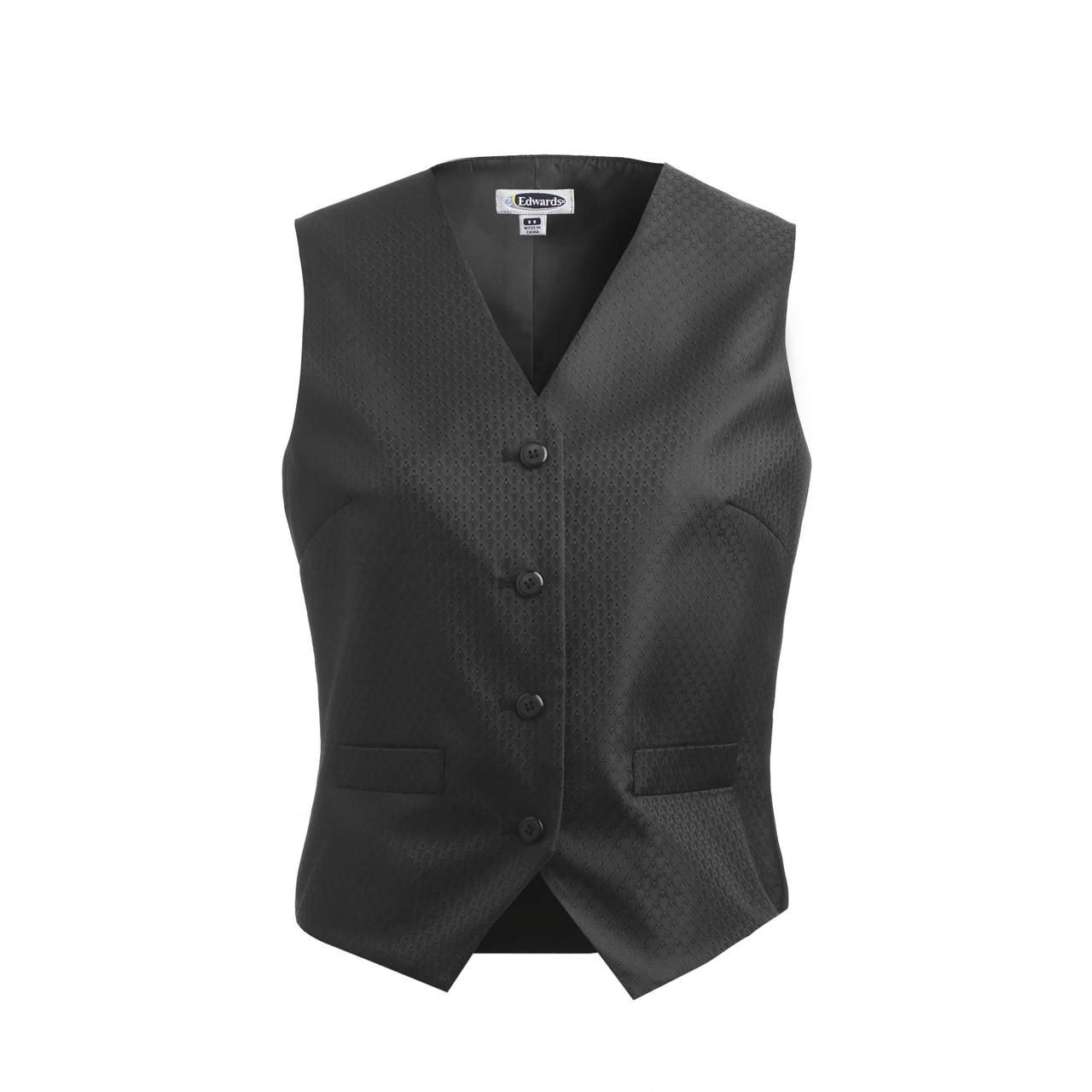Diamond Brocade Dealer Vest
