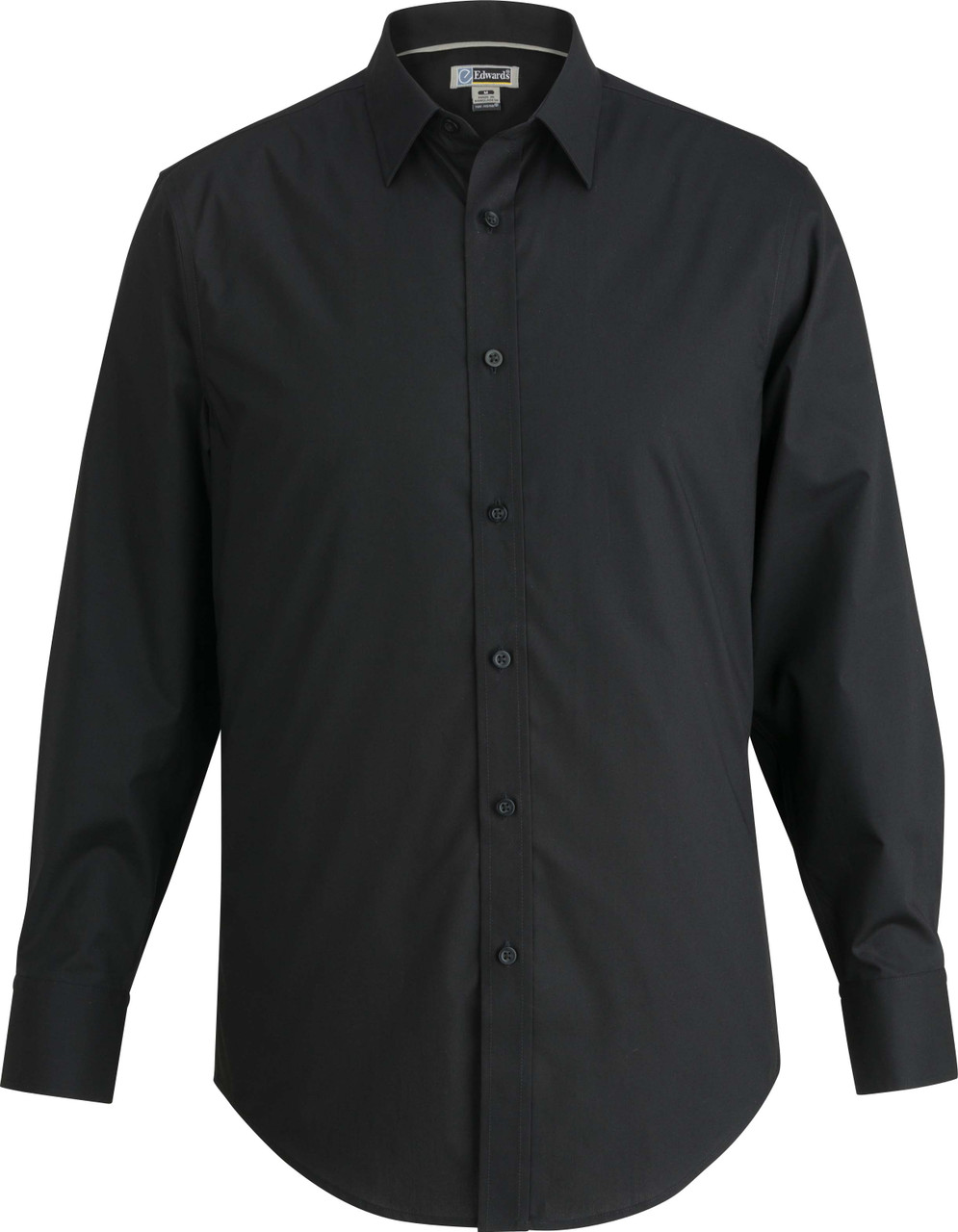 Men's No Iron Stretch Broadcloth Uniform Shirt
