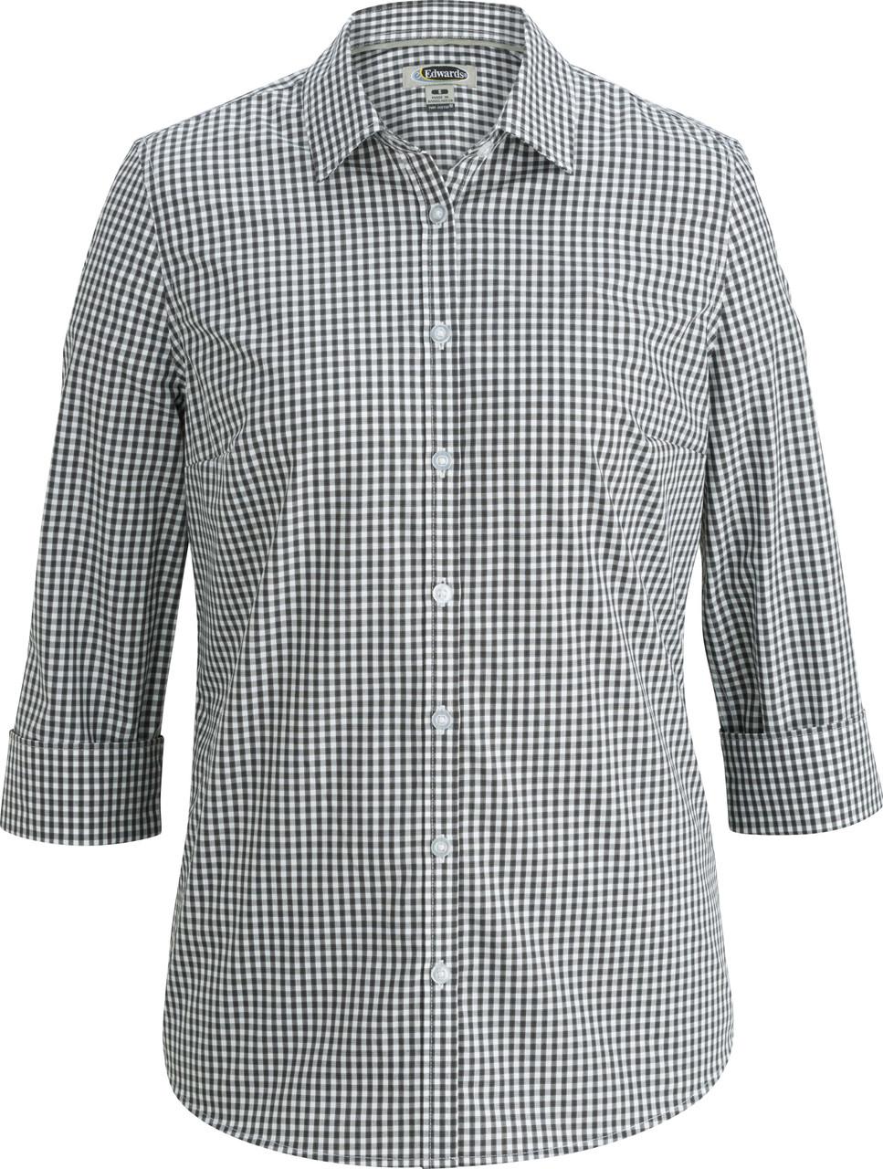 Women's No Iron Stretch Broadcloth Uniform Shirt