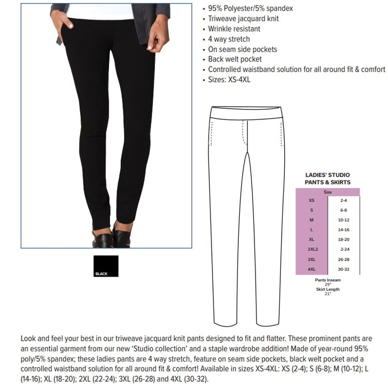 Slenderizing Studio Pants
