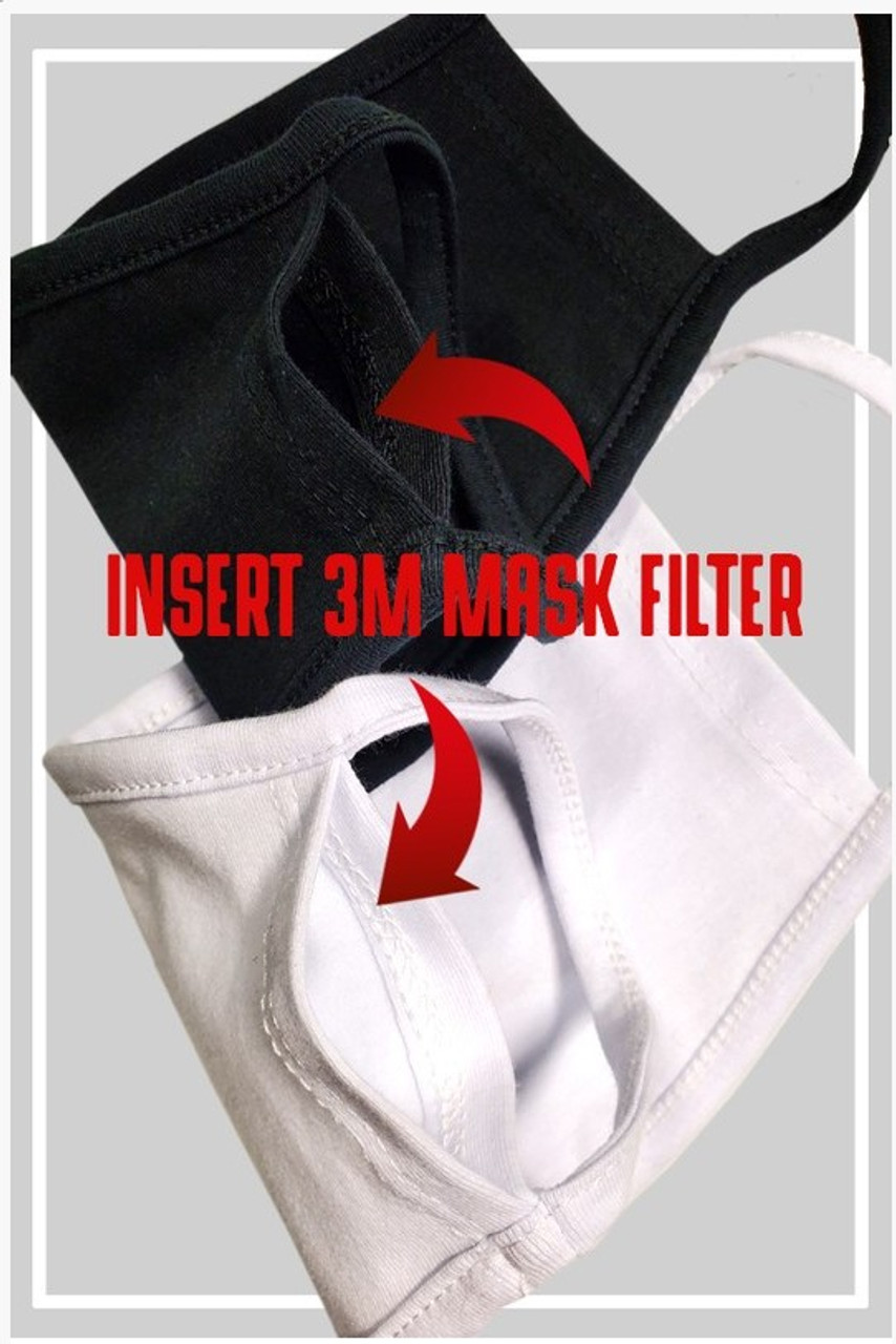 Cotton Filter Mask 10 Piece MultiPack