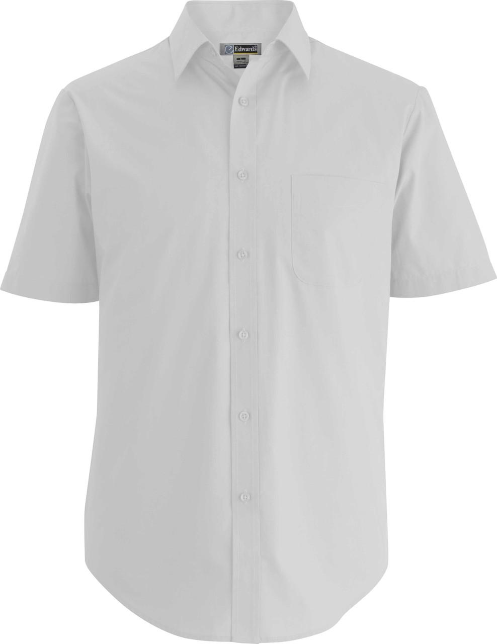 Men's Short Sleeve Essential Uniform Shirt