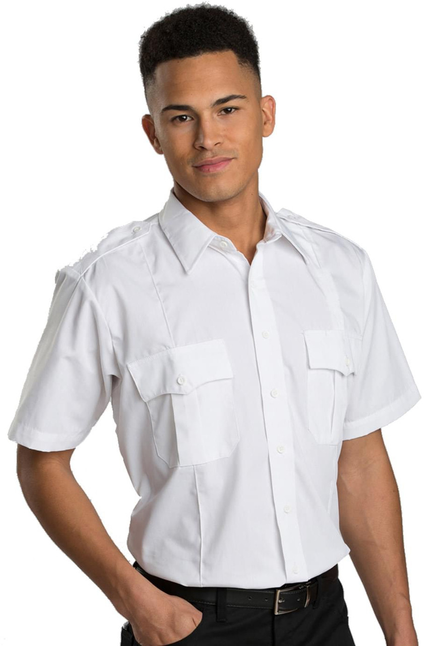 Short Sleeve Poly/Cotton Security Shirt