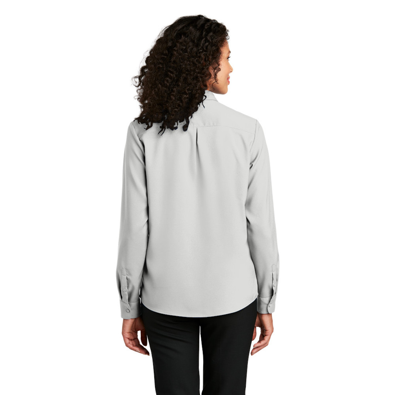 Ladies Long Sleeve Performance Staff Shirt
