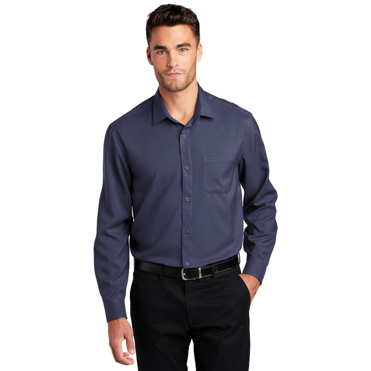 Men's Long Sleeve Performance Staff Shirt